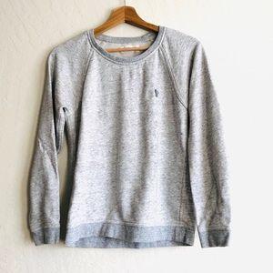 Everlane Heather Gray crew neck pullover sweater